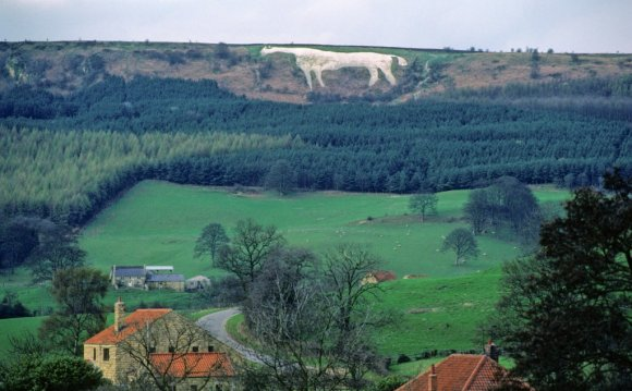The Kilburn White Horse North