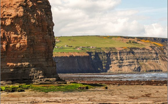 Cliffs at Cowbar | by