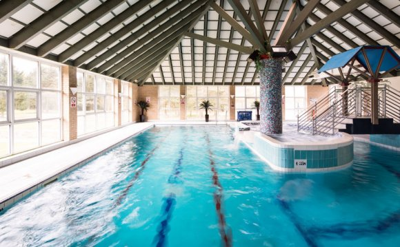 Our indoor heated pool is open