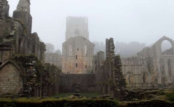 Fountains Abbey near Ripon