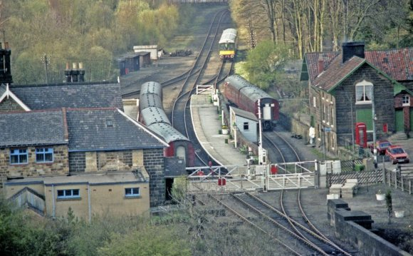 Grosmont station by