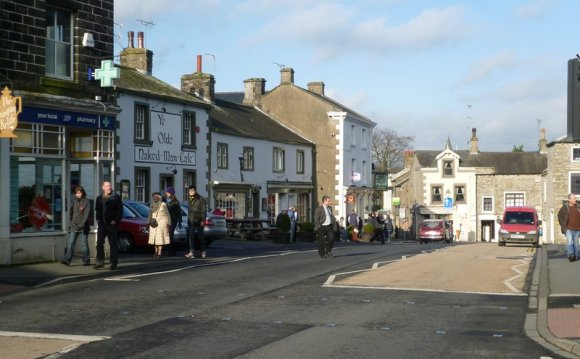 Settle town centre