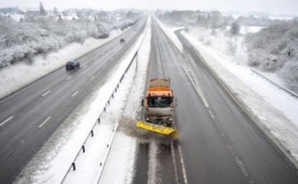 Snow and ice cause travel