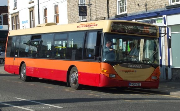 Photo of Stephensons bus