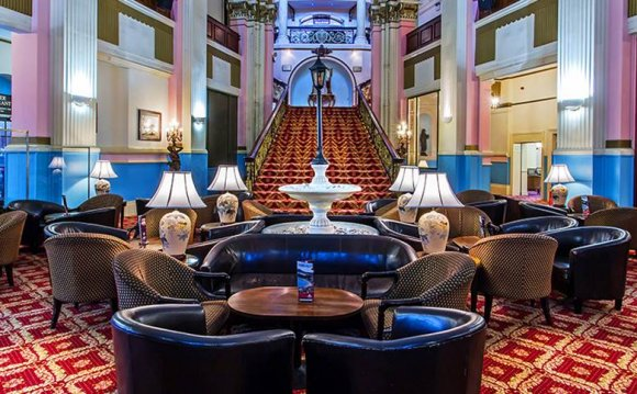 Grand Hotel Scarborough lounge