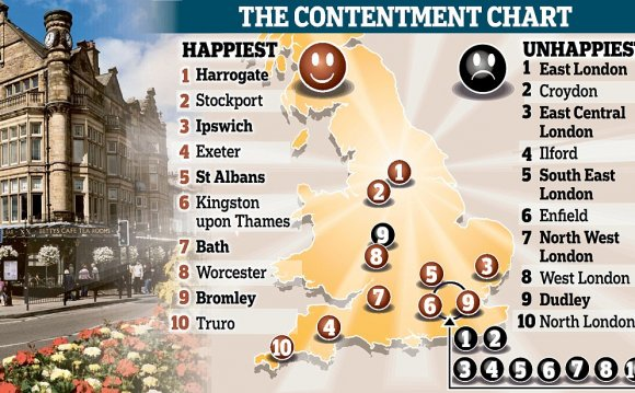 The happiest place in Britain?