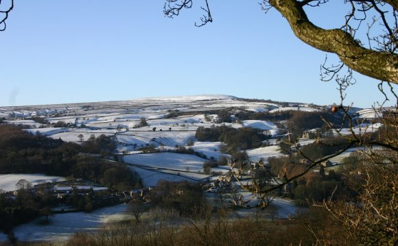 Winter in North Yorkshire