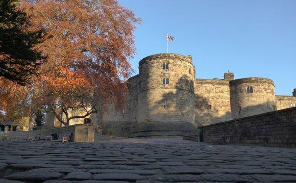 Autumn at Skipton Castle