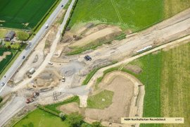 A684 Northallerton Roundabout Displays a larger version of this image in a new browser window