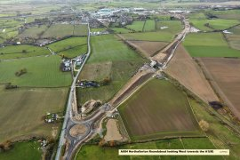 A684 Northallerton Roundabout Looking West Displays a larger version of this image in a new browser window