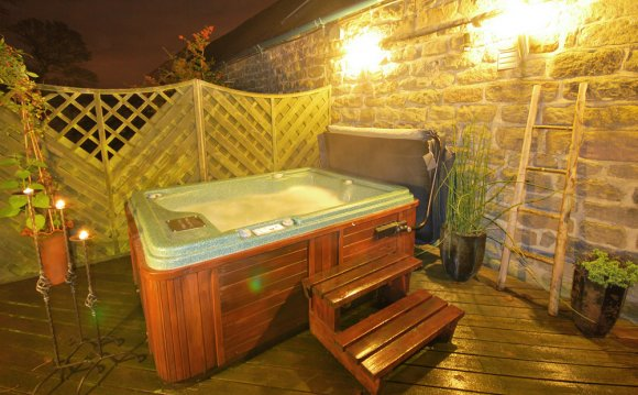 Hotel hot tub Yorkshire