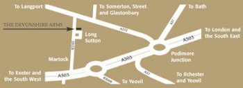 Directions to the Devonshire Arms