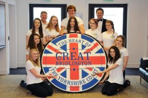 FLASHBACK: Great Bridlington Ambassadors' Launch Summer 2014