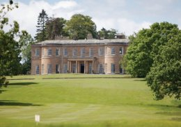 Harrogate's Rudding Park is named the top hotel in Yorkshire