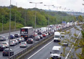 M1 traffic (stock image)