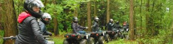 Quad bike trek at Camp Hill in Yorkshire