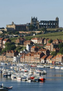 The coast at Whitby