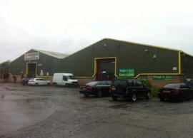 Thumbnail Commercial property for sale in Units 4, Catterick