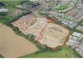 Thumbnail Land for sale in Land Off Catterick Road, Catterick Road, Colburn, North Yorkshire, England