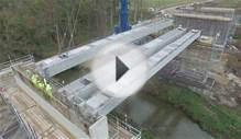 Beam Crane Lift - Bedale Bypass, North Yorkshire
