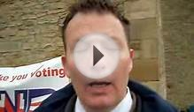 BNP Pete: Day of Action in Richmond, North Yorkshire