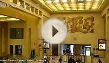 Brussels, Brussel Central Railway Station video