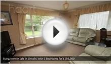 Bungalow for sale in Lincoln, with 3 Bedrooms for £150,