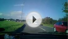 England North Yorkshire Driving Scarborough A165 Road