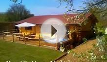 Luxury 4* Gold Log cabin holidays with hot tub