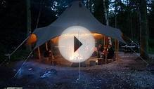 Luxury glamping in 200 acres of natural N Yorkshire woodland