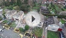 Man killed in massive house explosion in Yorkshire, UK