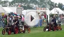 Mini Traction Engines at Pickering North Yorkshire 2010