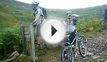 Mountain Biking in the Yorkshire Dales Aysgarth.