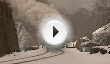 North Yorkshire Moors Railway - December snowscape
