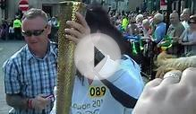 Olympic Torch Bearers Live in Ripon North Yorkshire