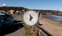 Sandsend Beach Near Whitby & Scarborough Yorkshire