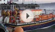 Scarborough Lifeboat - Last launch from Old Lifeboat House
