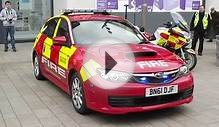 South Yorkshire Fire & Rescue Subaru Impreza STI WRX.