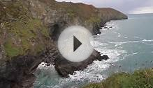 St Agnes north coast of Cornwall England near to Redruth