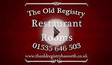 The Old Registry: Restaurant Rooms
