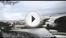 The Yorkshire Dales - A view over the snowy Yorkshire