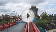 Velocity Front Seat on-ride HD POV Flamingo Land Theme