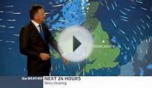 Weather forecast with Jon Mitchell for north and west