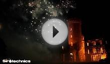 Wedding Fireworks at Swinton Park by Sirotechnics Fireworks
