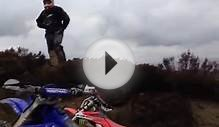 Yamaha wr250f North Yorkshire moors fail. Green lanes TRF