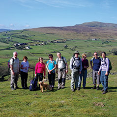 Walking in Wensleydale