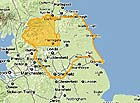 Yorkshire Accommodation Map