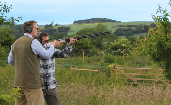 Clay pigeon Shooting North Yorkshire